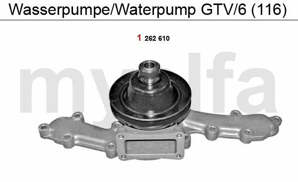 Pompe à eau GTV/6