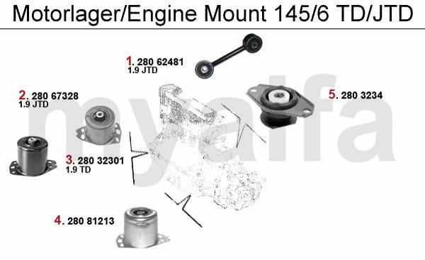 NEU-OVP-ALFA ROMEO-145//146-930-1.4ie-STGT-MOTOR//0261204481//00465328100//   0//001//