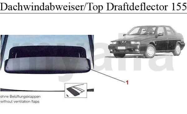 déflecteur de toit