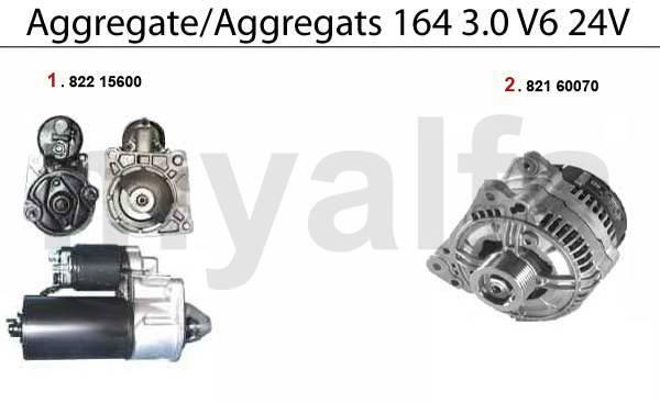 démarreur/alternateur 3.0 V6 24V