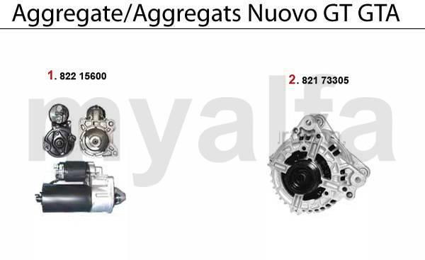 Démarreur / Alternateur 3.2 V6 24V