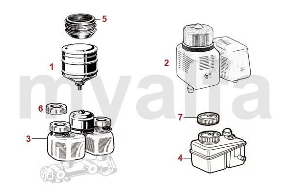 Circuito Hidraulico : Alfa romeo alfa romeo spider circuito hidráulico de