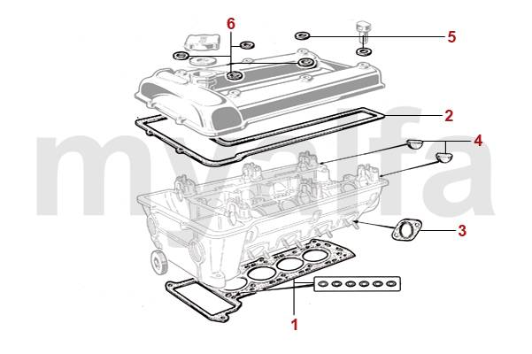Alfa Romeo ALFA ROMEO SPIDER (105/115) Engine, Engine Parts