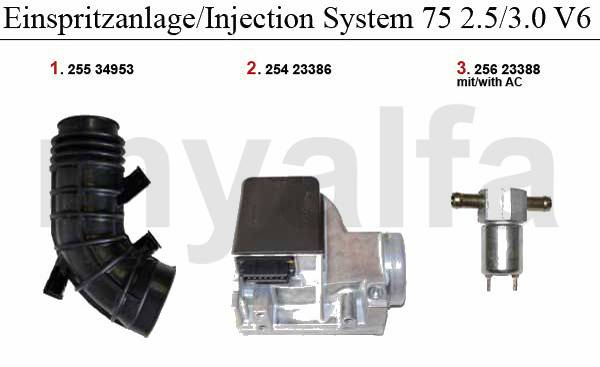 circuit injection 2.5/3.0 V6