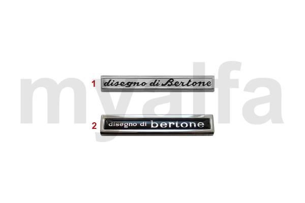 Emblèmes Bertone