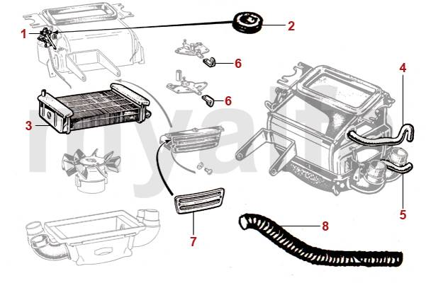 alfa romeo spider engine diagram  alfa romeo  wiring
