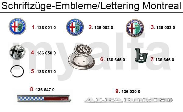 lettrages/emblèmes