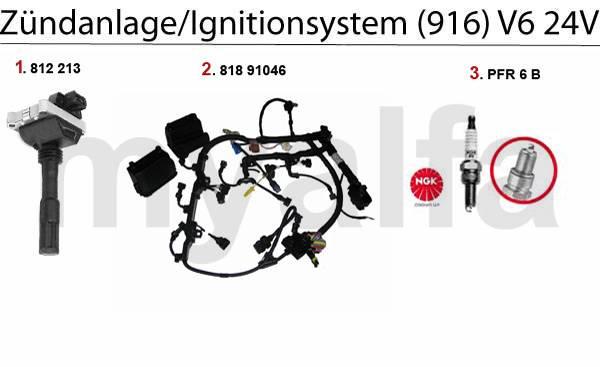 allumage 3.0/3.2 V6 24V