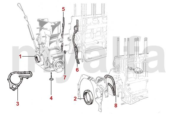 alfa romeo alfa romeo spider (105 115) engine, engine parts \u0026 alfaalfa romeo spider (105 115) body parts