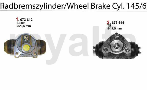 cylindres de roue