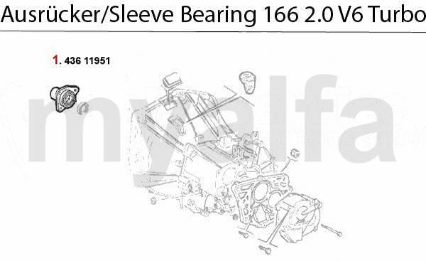 Coulisseau 2.0 V6 Turbo