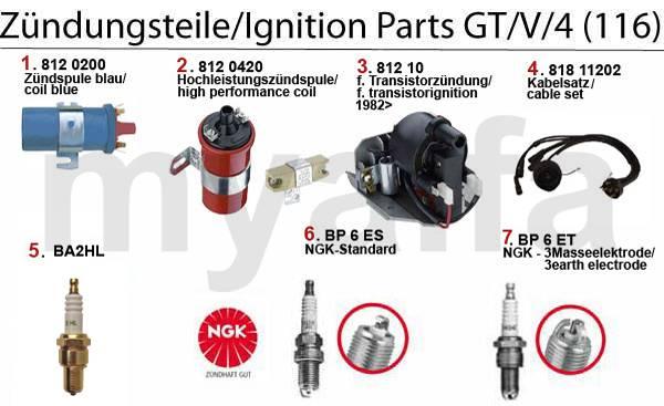 Allumage GT/V/4 (116)