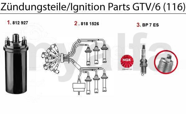 Allumage GTV/6 (116)