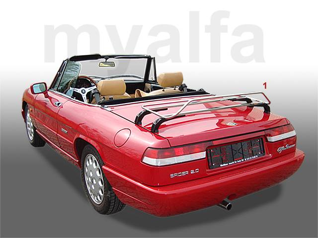 alfa romeo spider 105 115 carrier. Black Bedroom Furniture Sets. Home Design Ideas