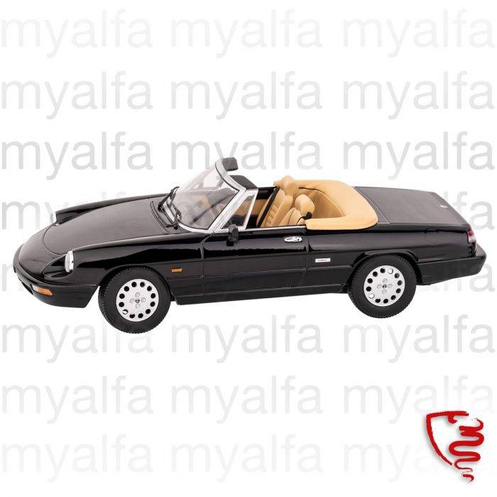 Alfa Romeo Alfa Romeo Spider 1990 93 Black 1 18 Limited Edition