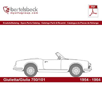 Giulietta/Giulia 750/101